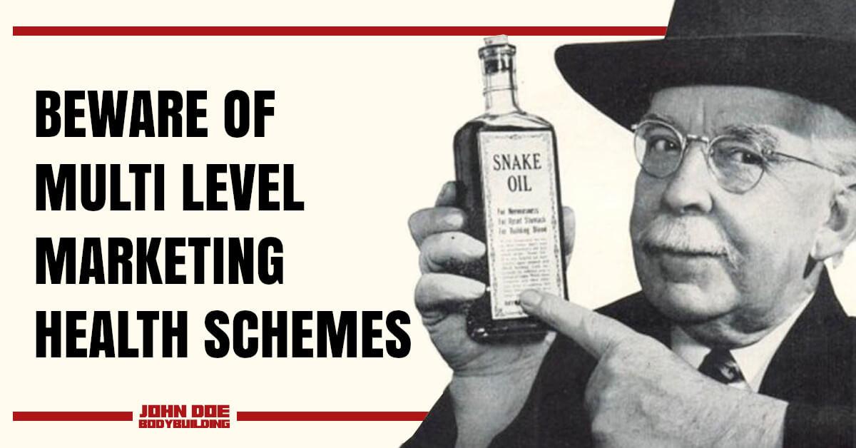 snake oil salesman