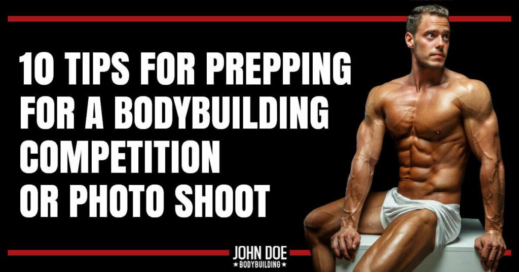 muscular man posing for photo