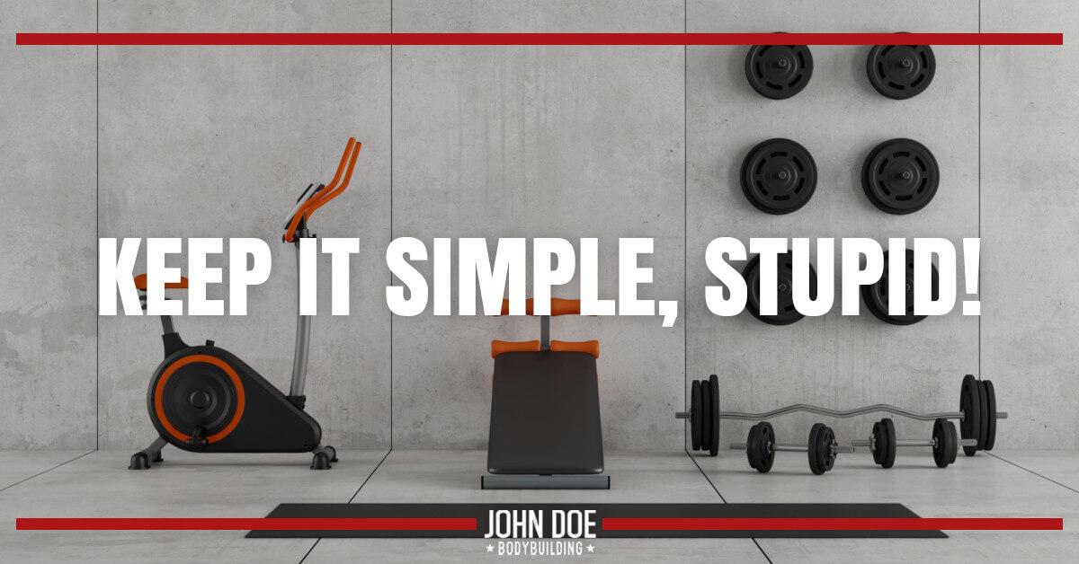 clean modern gym