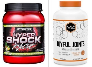 Hypershock and Joyful Joints: Pre-Workout Energy and Joint Support That Works