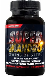 Super Size and Super Strength on Super Mandro!!!
