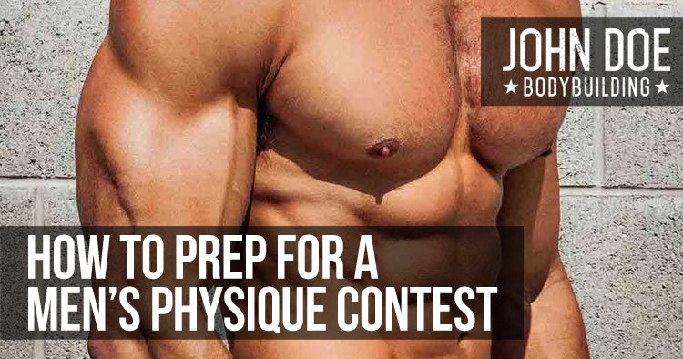 How to Prep For a Men's Physique Contest