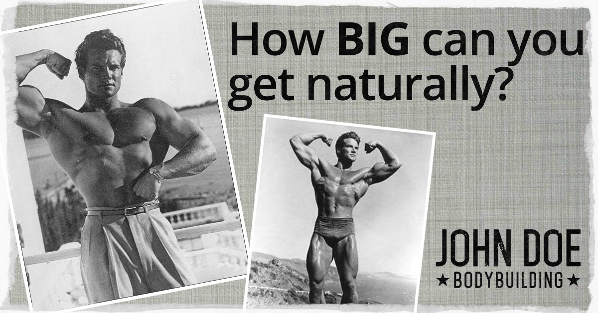 How BIG can you get naturally