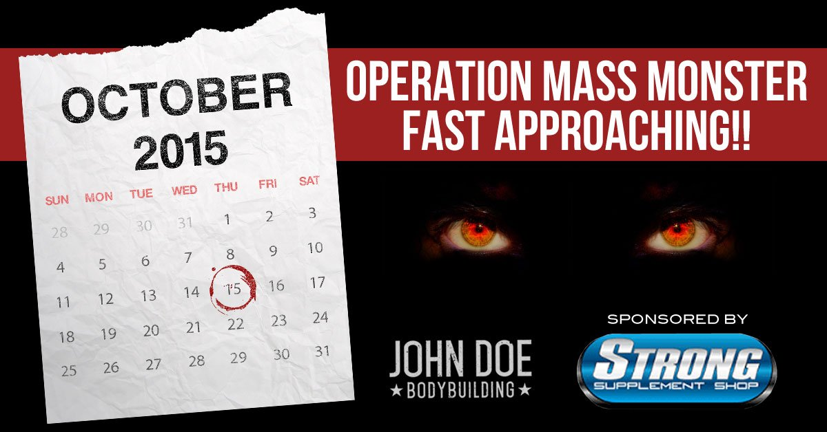 Operation Mass Monster Fast Approaching