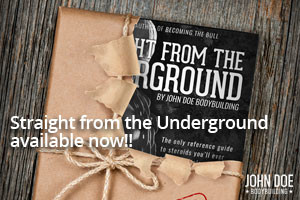 STRAIGHT FROM THE UNDERGROUND IS AVAILABLE NOW!!!
