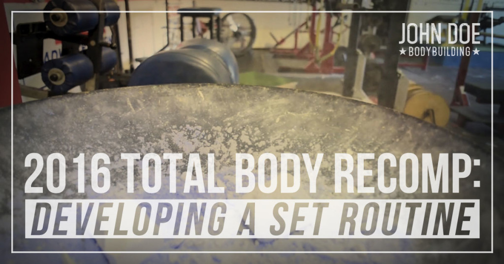 Developing a set routine