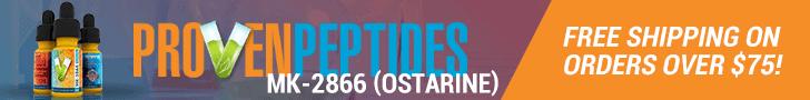 Proven Peptides Ostarine