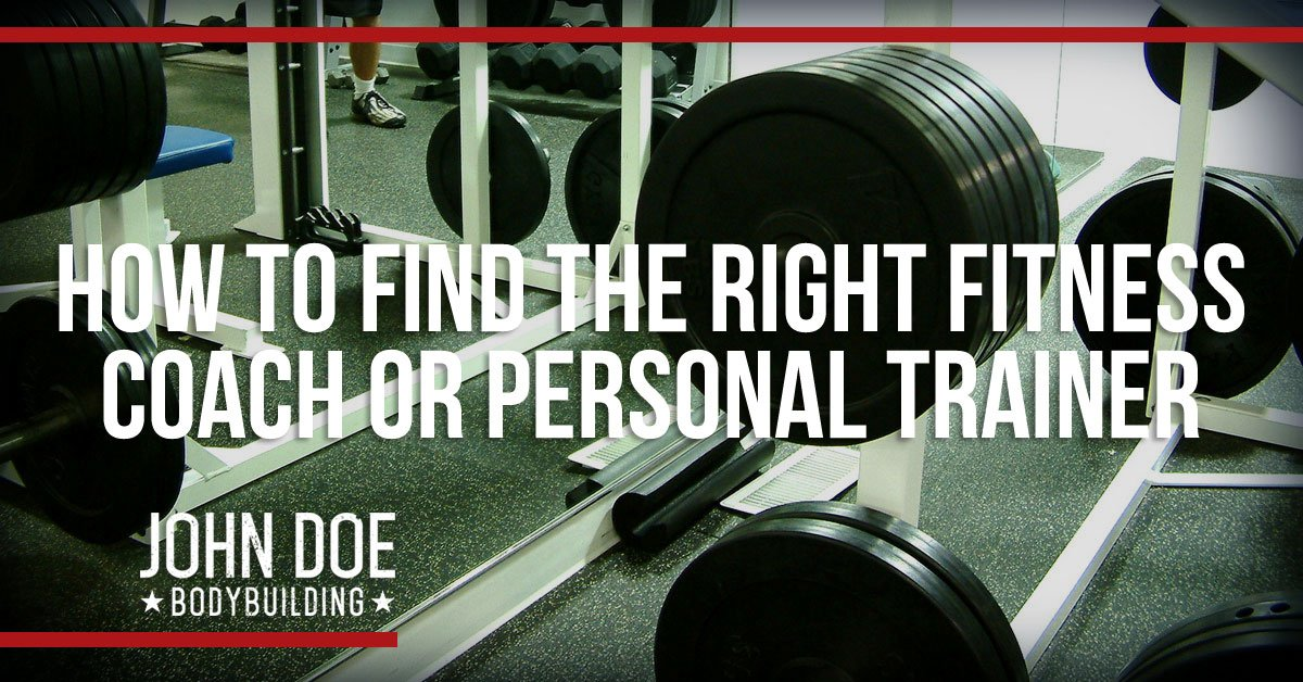 Find the right fitness coach