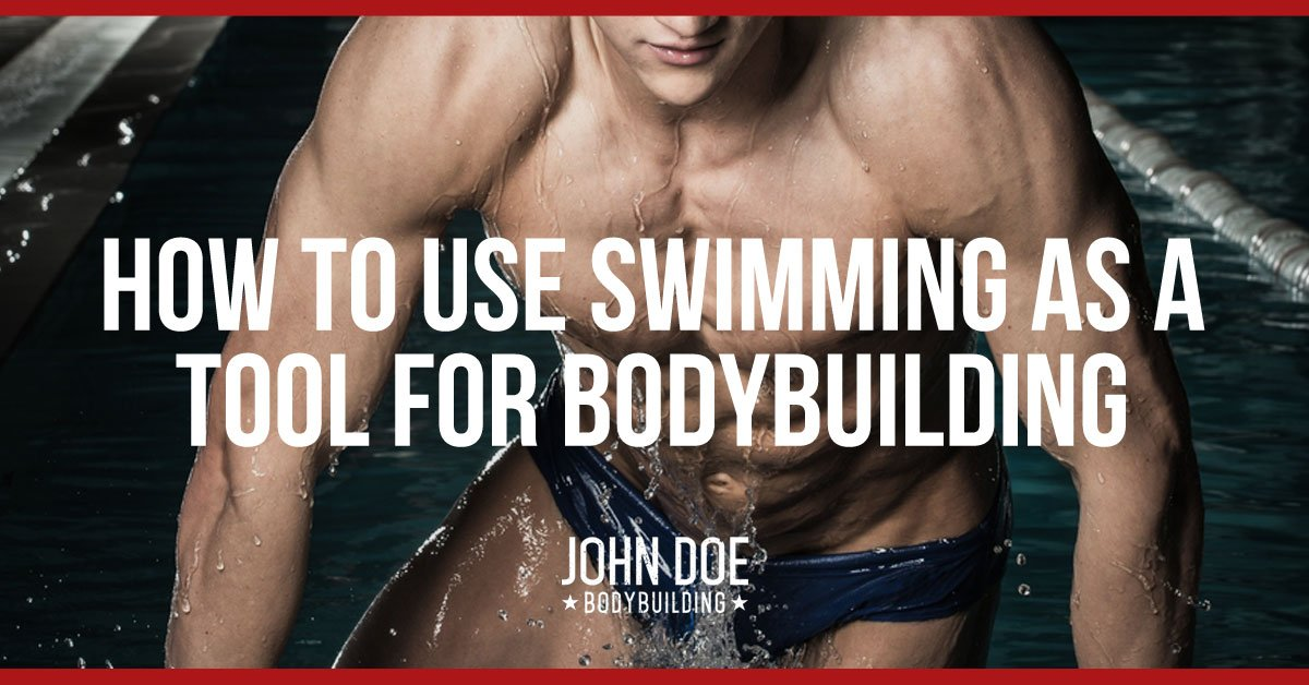 How to use swimming as a tool for bodybuilding
