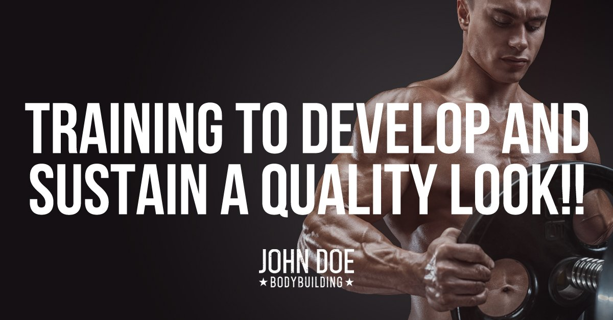 training to develop and sustain a quality look