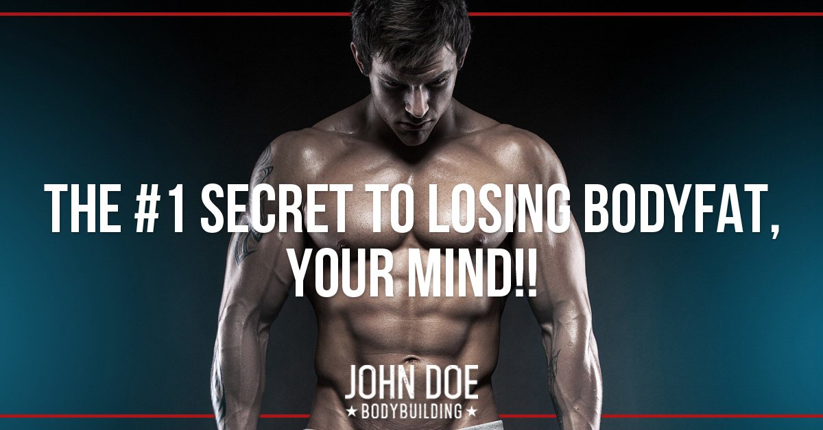 The #1 secret to losing body fat