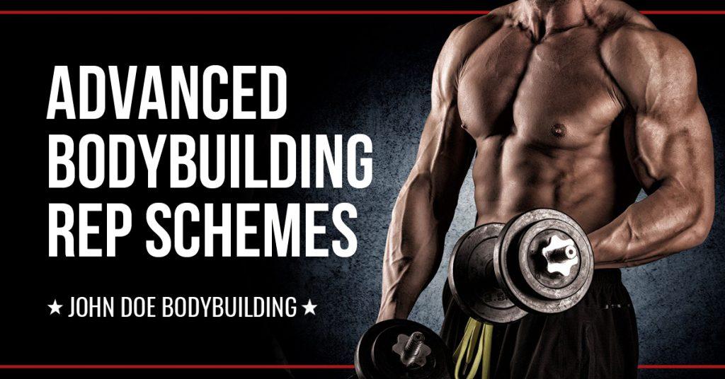 Advanced bodybuilding rep schemes