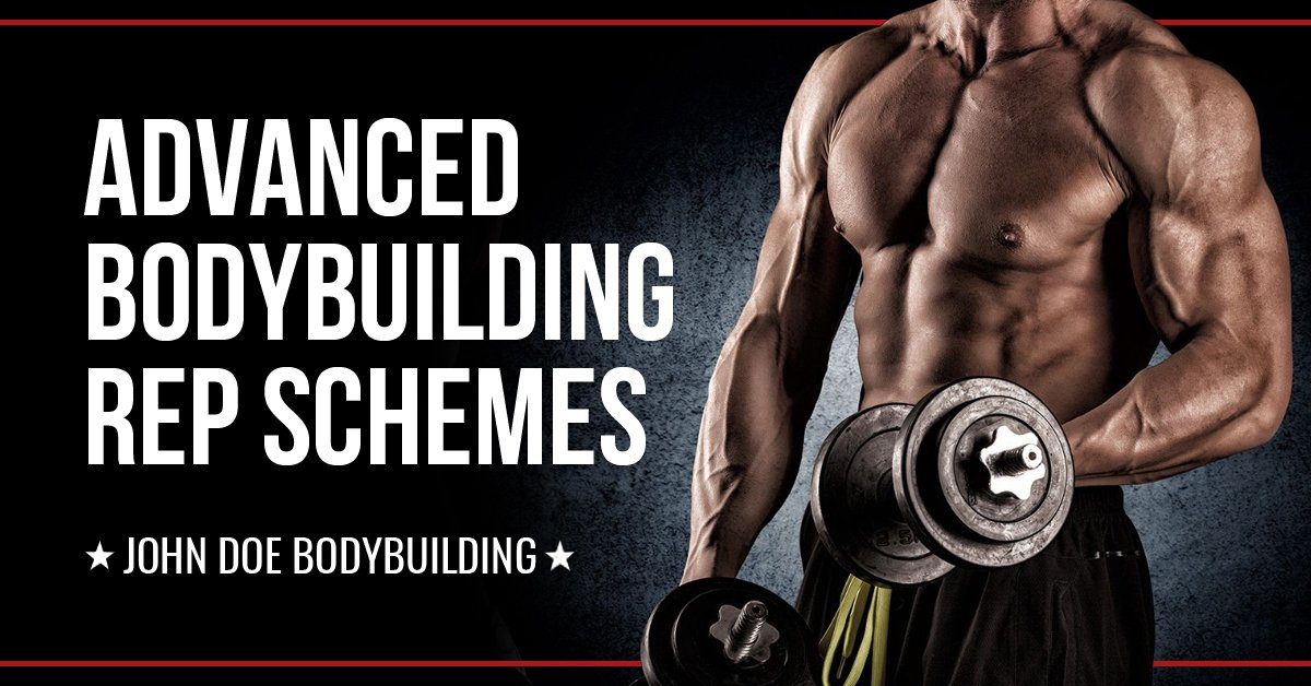 Advanced bodybuilding rep schemes