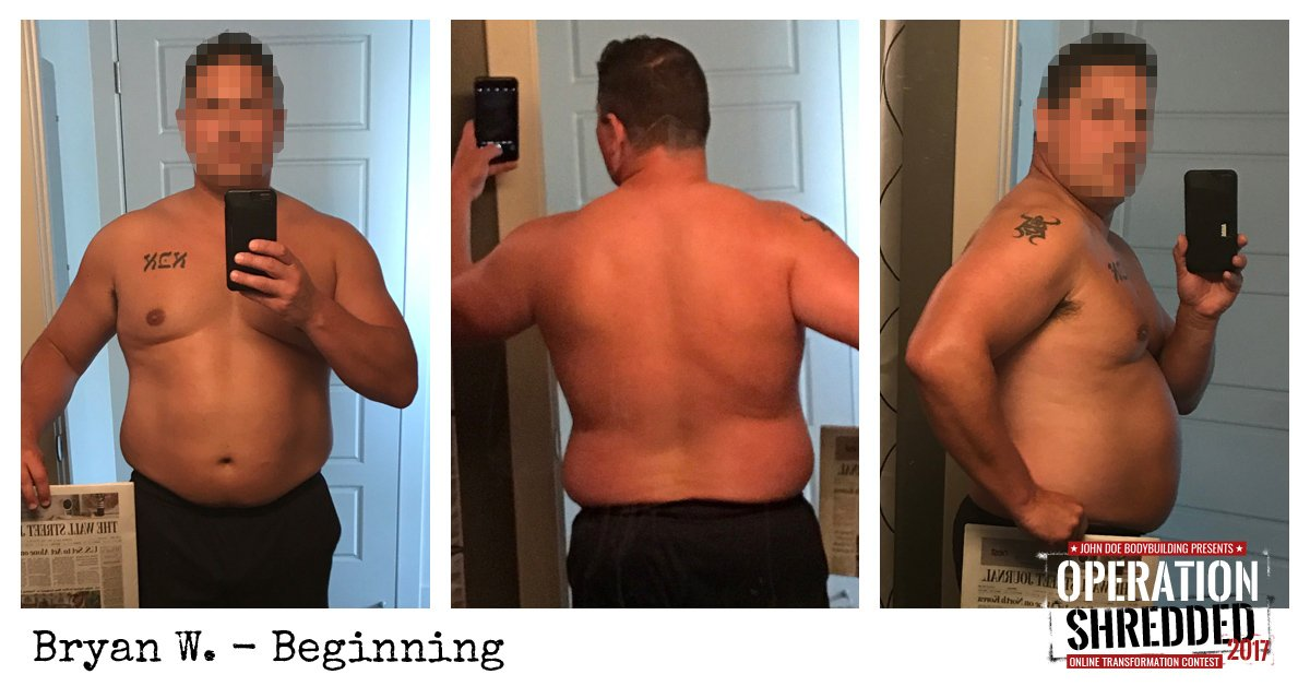Operation Shredded 2017 Results- Bryan W Beginning