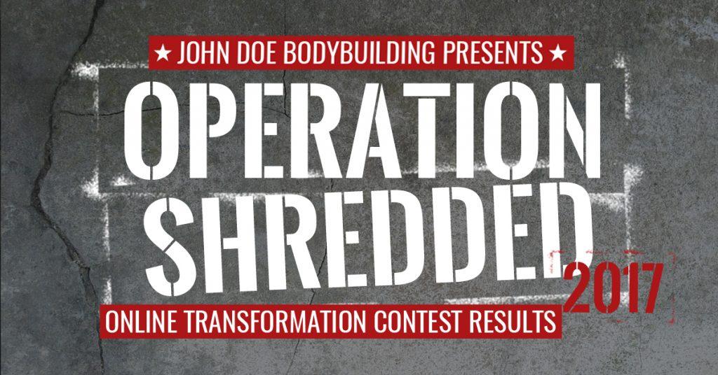 Operation Shredded 2017 Results