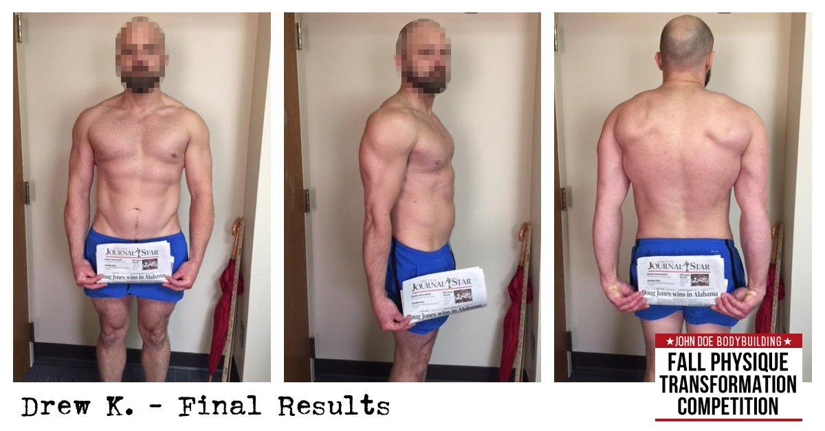Drew K. Final Results