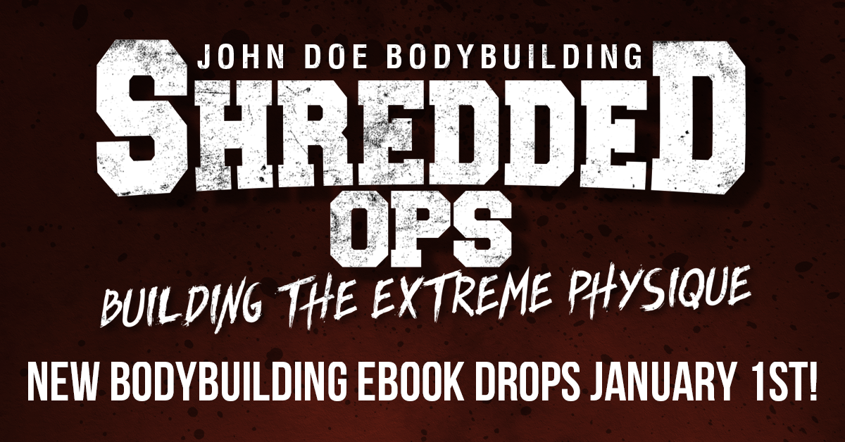 Shredded Ops e-book coming soon