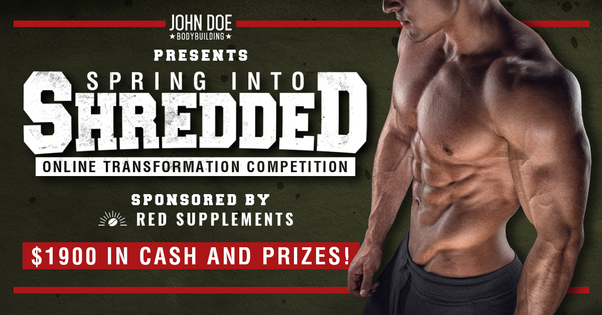 Spring into Shredded Online Transformation Competition