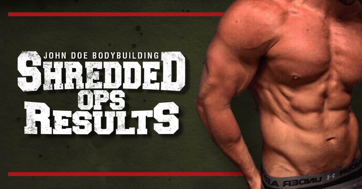 Shredded Ops gets results