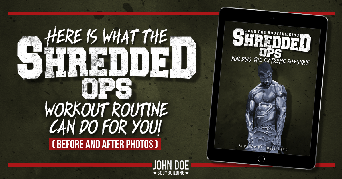 Get Results with the Shredded Ops workout routine