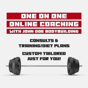 Train with John Doe Bodybuilding