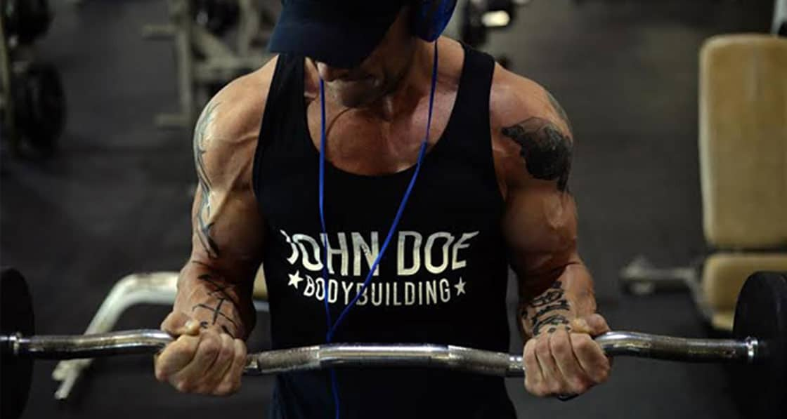 John Doe Bodybuilding in the gym